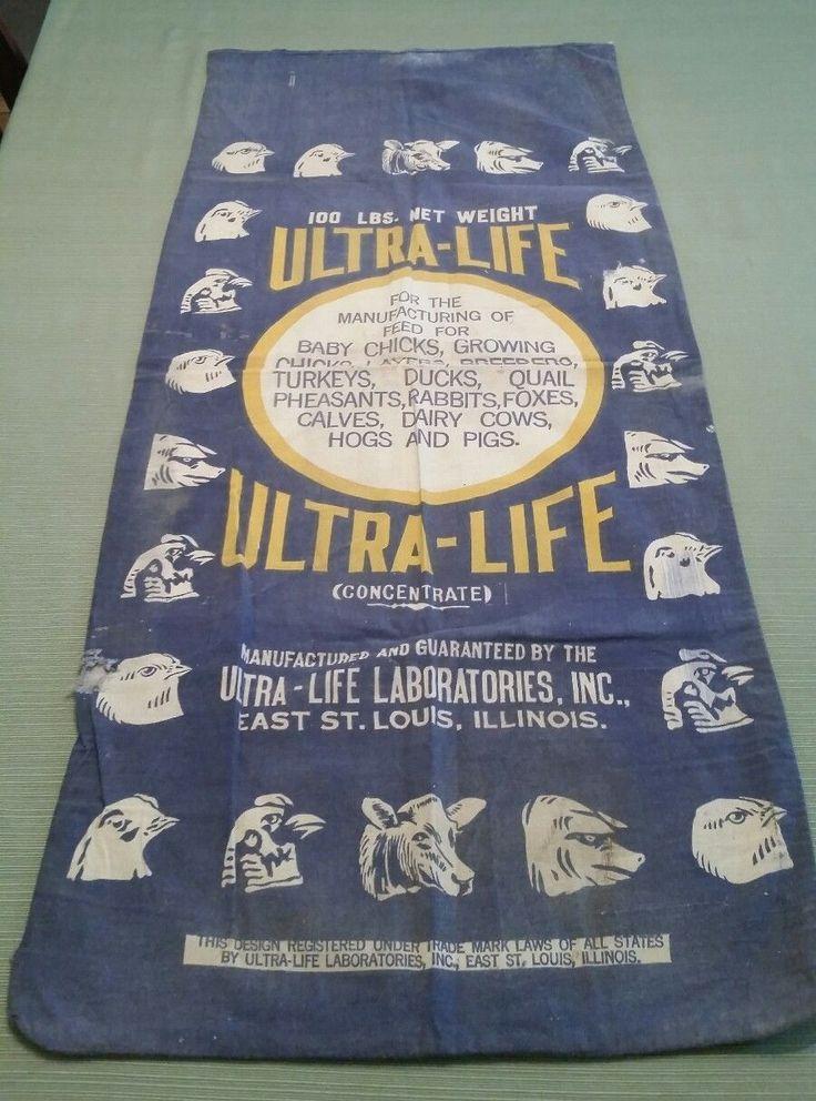 Ultra-Life Ulna-Life Laboratories Inc. East St. Louis, Illinois 18x42