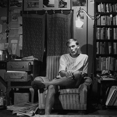 Legendary writer & traveler Hunter S. Thompson in the 1960s. Hunter called Florida home when he first came into writing for an army newspaper.