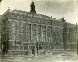 Main building of City Hospital in 1910.   I was born in this hospital in 1938
