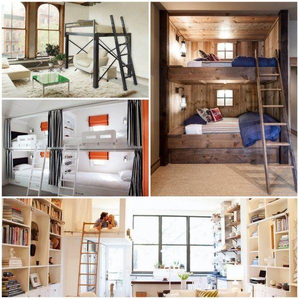 hochbett f r erwachsene herausforderung oder praktische einrichtung house pinterest. Black Bedroom Furniture Sets. Home Design Ideas