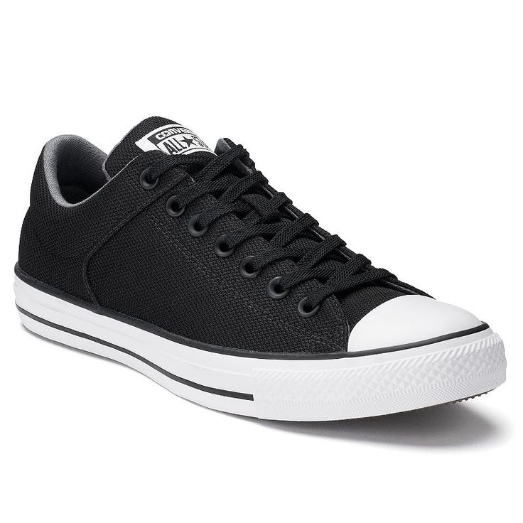 Men's Converse Chuck Taylor All Star Street Basket-Knit Sneakers, Size: M12W14, Black, Durable