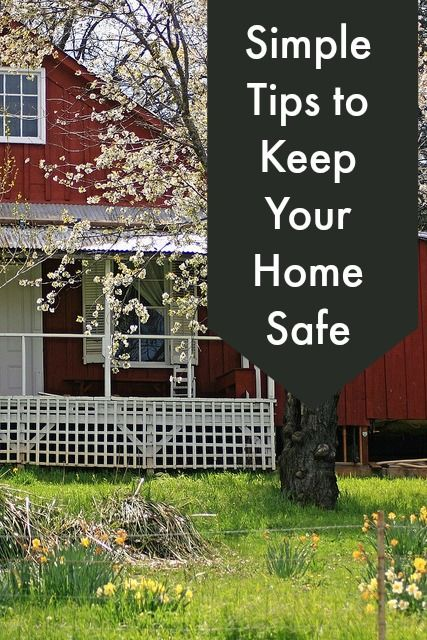 Keep Home Simple New Entry Light: Simple Tips To Keep Your Home Safe