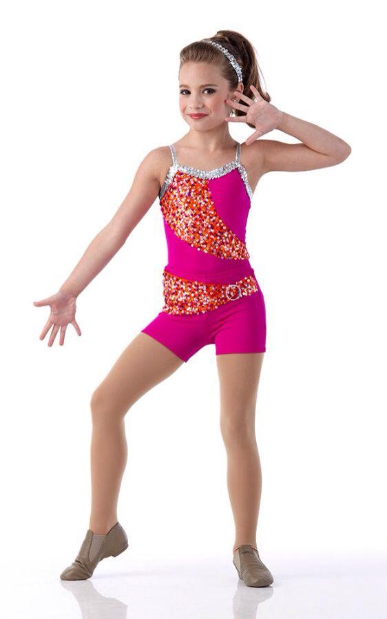 Mackenzie Ziegler Modelling for Cici Dance Creations (2014)