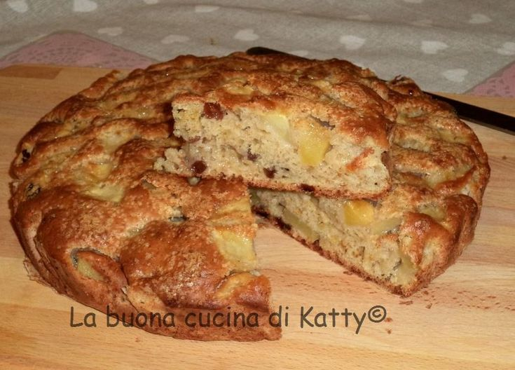 La buona cucina di Katty: Torta di mele veg