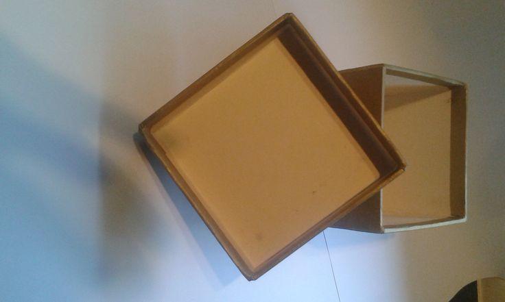 Old Cube Box & Lid