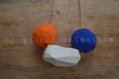 geolove- handmade polymer clay beads.