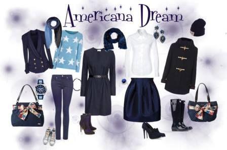 #Miche empfiehlt diese Woche das Cover Americana! Dazu lassen sich Blau Töne in verschiedenen Nuancen perfekt stylen!