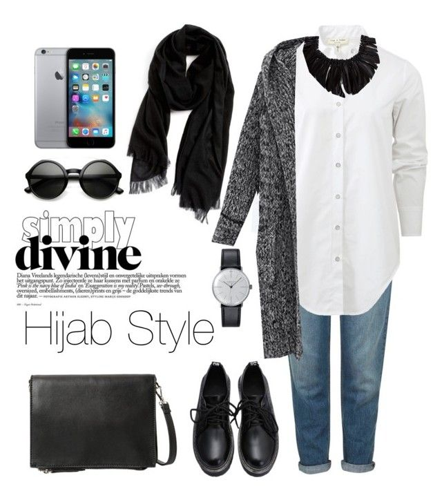 """Hijab Style"" by rabiasemx on Polyvore featuring Topshop, Nordstrom, rag & bone, MANGO, Klein & more, Monies, women's clothing, women, female and woman"