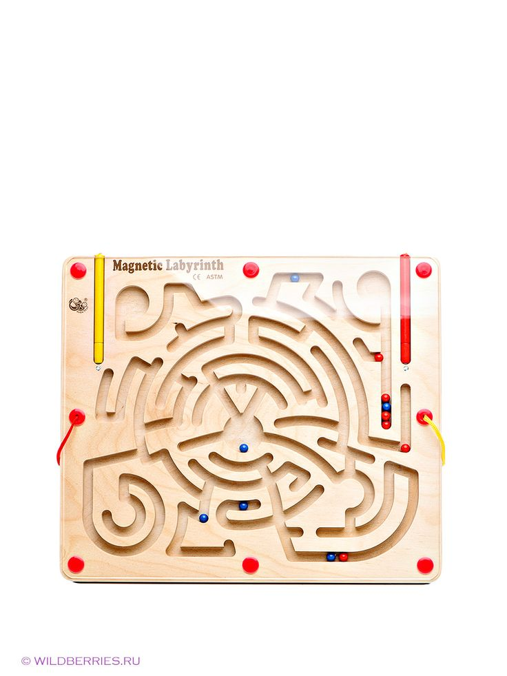 Магнитный лабиринт GOGO. Цвет бежевый. Есть отзывы покупателей. Удивительная игра для развития ребенка, помогает развивать логическое мышлен...