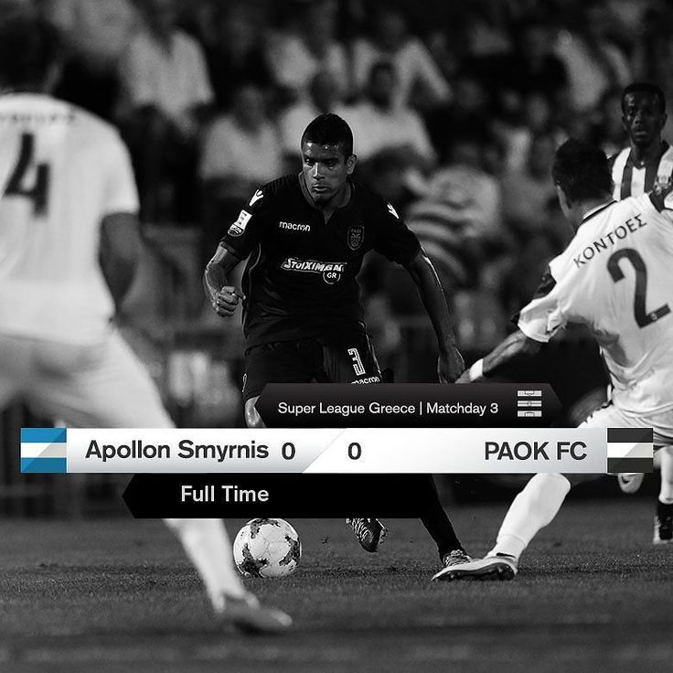 #APOPAOK 0-0 #SuperLeague