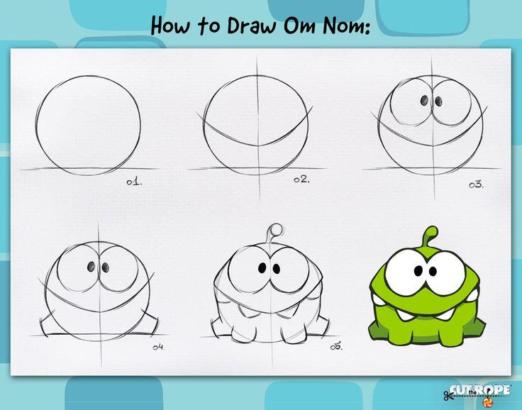 RESULTATS Google Recherche d'images Correspondant à http://fc06.deviantart.net/fs71/f/2013/245/4/1/how_to_draw_om_nom_by_maksim2d-d6kucq3.jpg