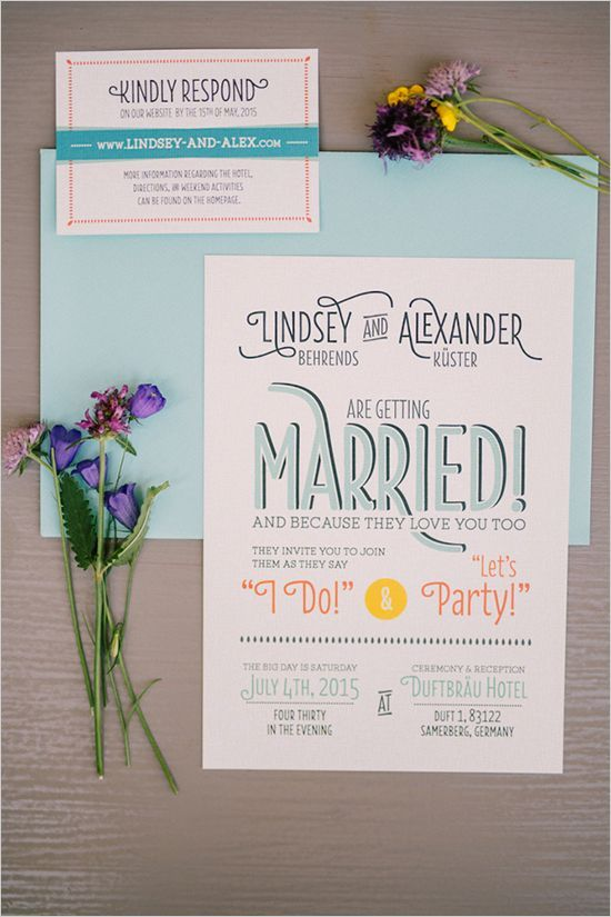 wedding invitations @weddingchicks                                                                                                                                                                                 More