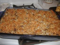 I love making casseroles, and I love beef stroganoff. This is one of my familys favorite meals.