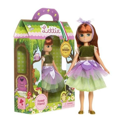 "Lottie Κούκλα βινυλίου ""Νεράιδα του Δάσους"" 18εκ."