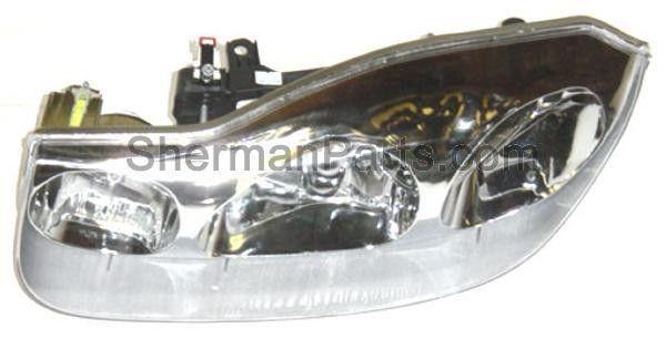 2001-2002 Saturn S-Series Coupe Headlamp LH