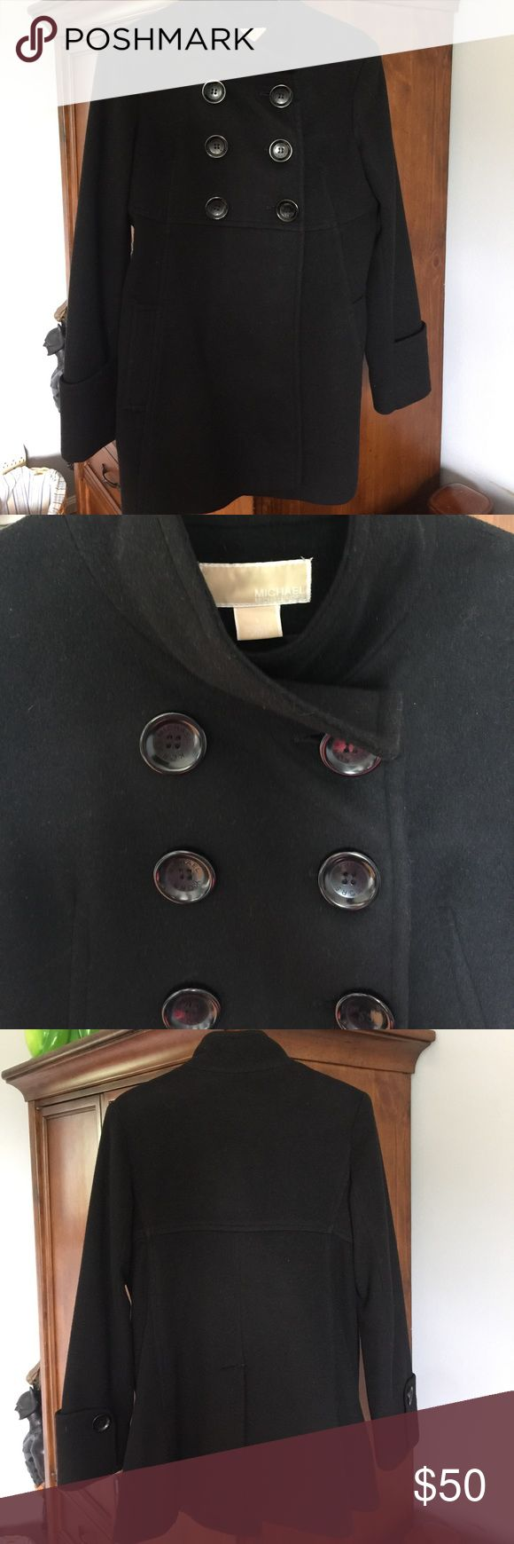 Women's Michael Kors dress coat size 8 Women's size 8 Michael Kors dress coat. 80% wool 20% nylon Michael Kors Jackets & Coats Pea Coats