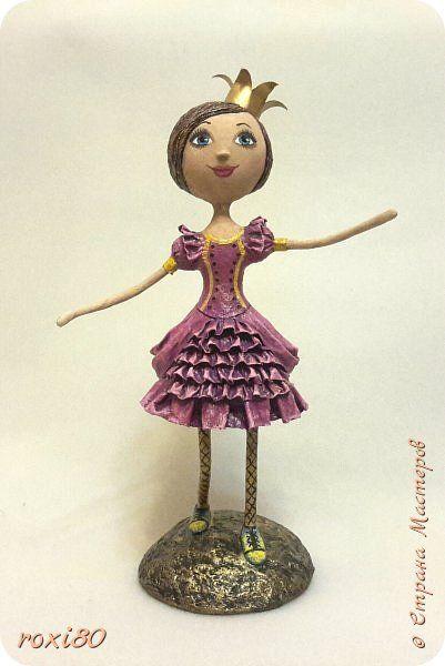 Куклы Папье-маше Принчипесса   Бумага фото 5
