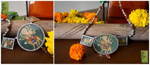 Durga neck piece
