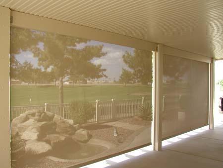 Patio Sun Amp Wind Screens Block The Sun But Still Keep