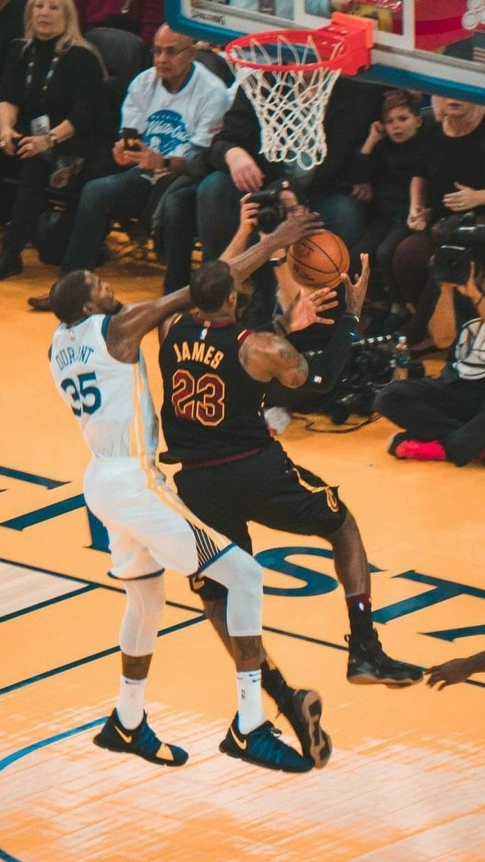 6226fff58 Lebron James and Kevin Durant wallpaper
