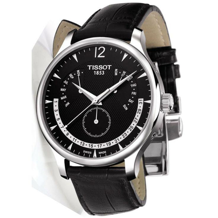 Pánske hodinky TISSOT Tradition T063.637.16.057.00 s dátumom