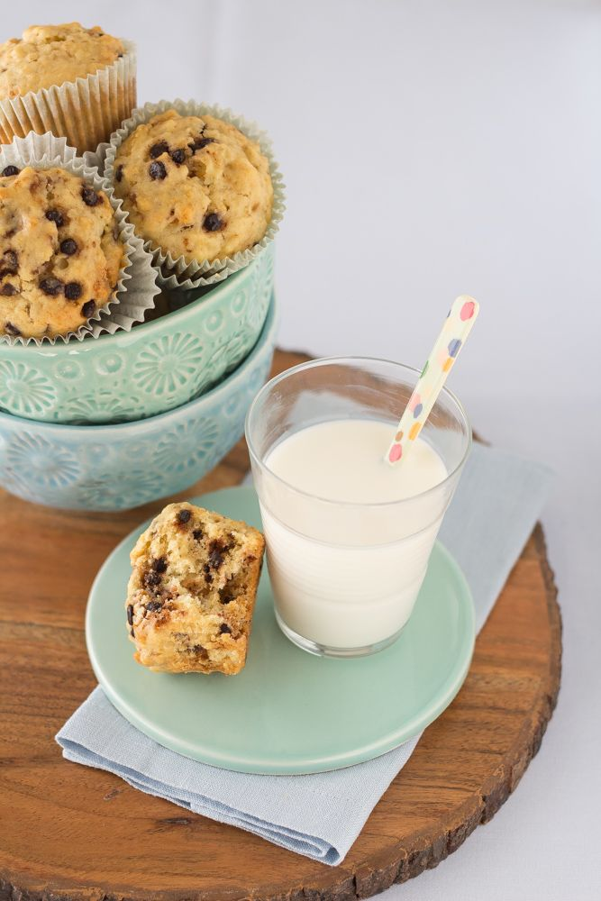 muffin al panettone, rice dk