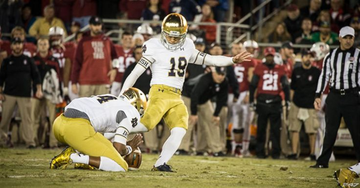 Notre Dame freshman Justin Yoon earned his second freshman All-American honor on Monday when the Football Writers Association of America...
