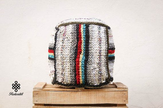 THE CUBE - Retextil pouffe - Hand Woven Recycled High Quality Decoration - Ottoman Footstool Fabric Pouf - Nursery Home Decor  9:04  #home #living #decor #decoration #decorative #pillow #pillows #pouffe #pouf #cushion #ecodesign #slow #slowdesin #handmade #recycle #diy #recycled #fabric #textile #retextil #grey #rasta #rastafary