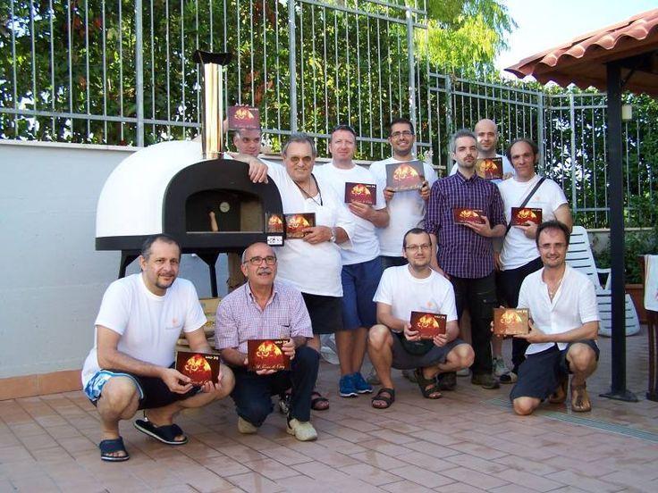 What a great pizza party dear Osvy!!! Thank youuuuu Zio Ciro Friends:-))) WanderfuleSubito Cotto model 60 x 60 by Zio Ciro  www.zio-ciro.com