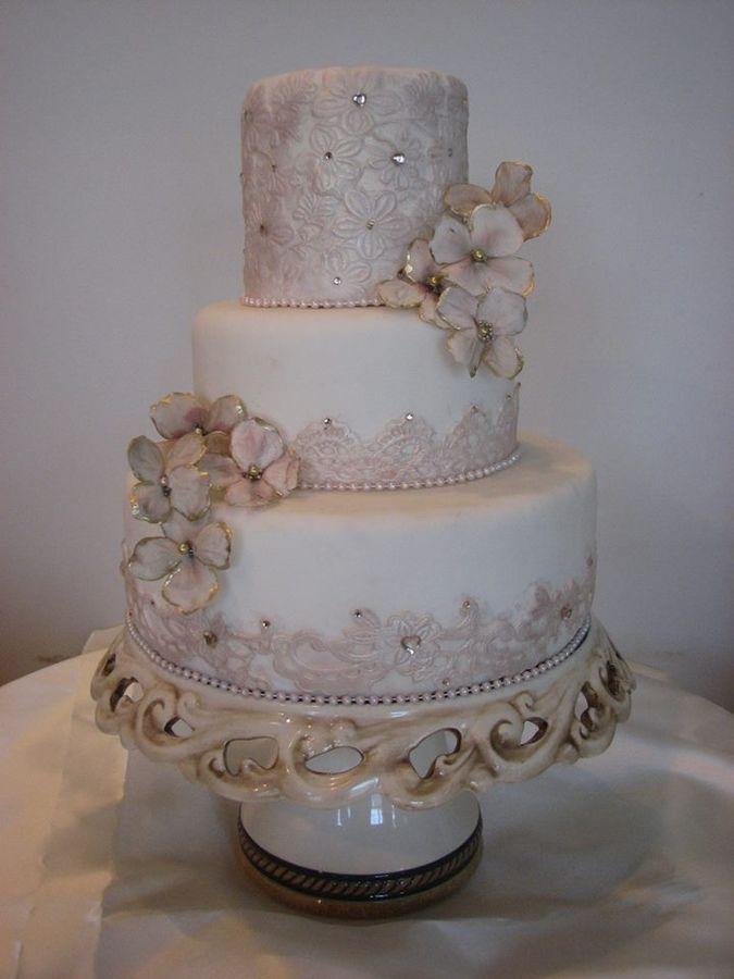 Vintage Lace Cake Design : 1000+ ideas about Vintage Cakes on Pinterest Vintage ...