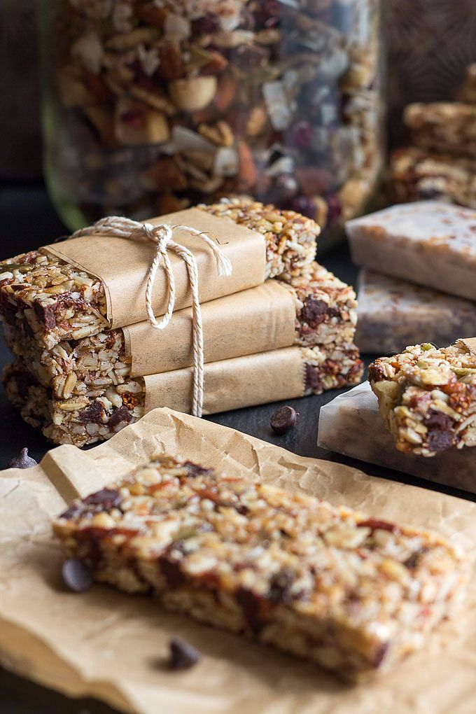 These low carb granola bars are a great gluten free and grain-free keto snack.