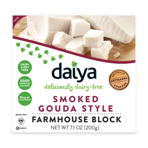 Smoked Gouda Style Block - Daiya Foods, Deliciously Dairy-Free Cheeses, Meals & More