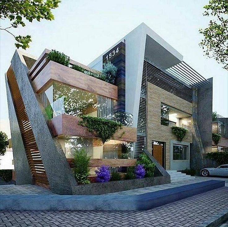 174 best conflict exterior images on pinterest for Architecture villa design