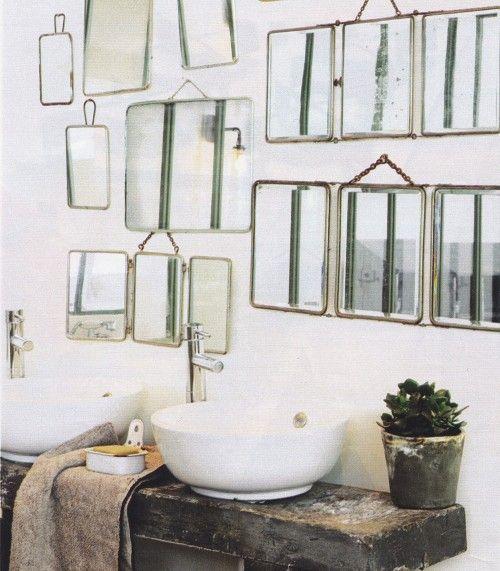 Les 25 meilleures id es de la cat gorie salle de bains for Se voir dans un miroir