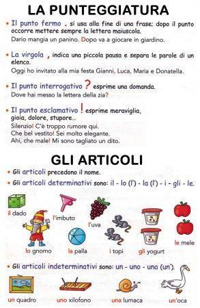 Risultati immagini per regole grammaticali italiano