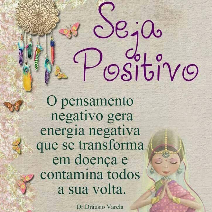 Positividade...
