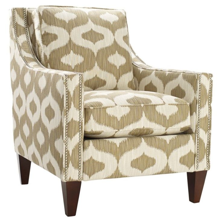 Furniture Popular Design Charming High Back Accent Chair With Beautiful Pattern Chairs Under 100