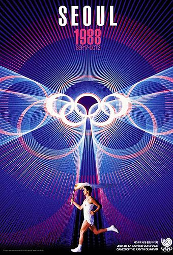 Summer Olympic Games Poster - 1988 Seoul