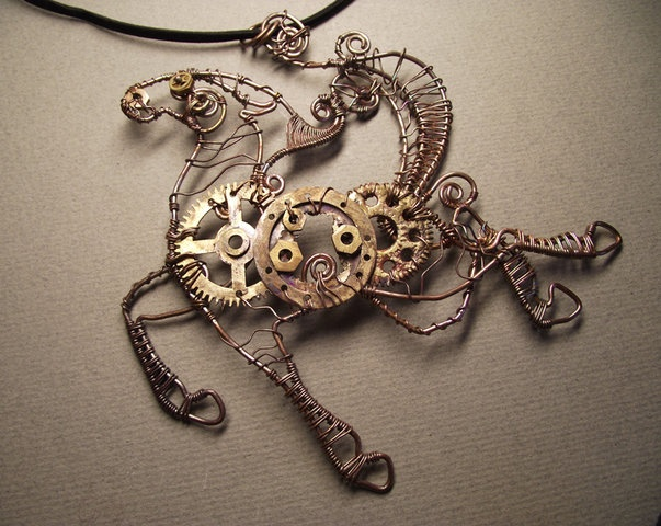steampunk wire art for - photo #22
