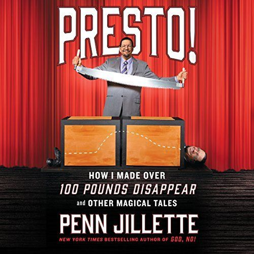 "Another must-listen from my #AudibleApp: ""Presto!"" by Penn Jillette, narrated by Penn Jillette."