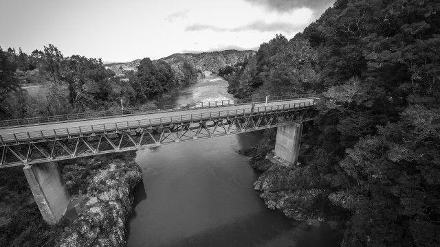 Buller Gorge Bridge, New Zealand