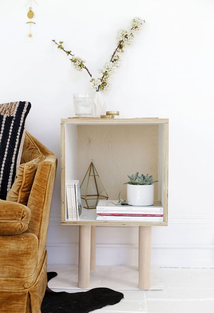 DIY Plywood Side Table   www.homeology.co.za
