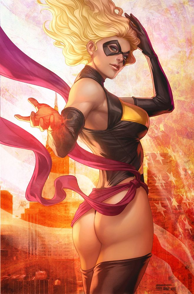 "Ms. Marvel//Stanley ""Artgerm"" Lau/L/ Comic Art Community GALLERY OF COMIC ART"