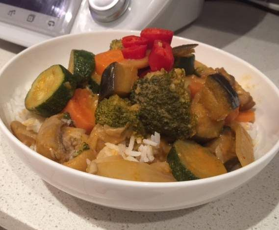 Recipe 15 Minute Curry by monicathermomixes - Recipe of category Main dishes - vegetarian