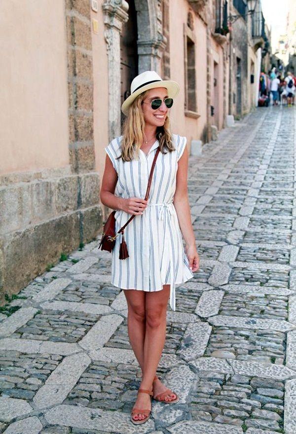 40 Comfy Travel Outfits Ideas for a Superb Trip
