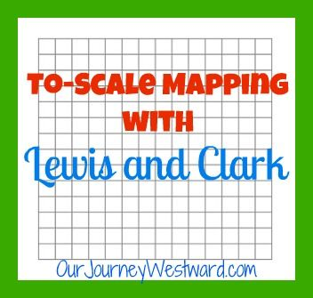 Outdoor to-scale mapping activity