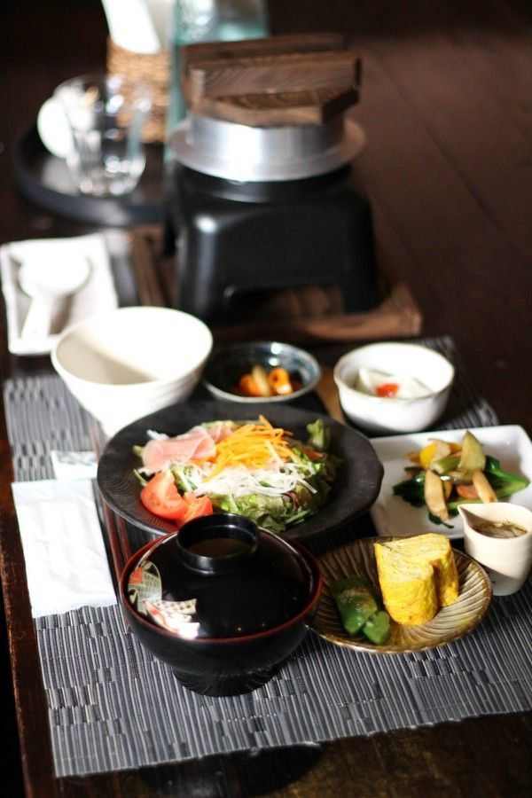 Japanese style breakfast at Yufuin hotspring resort, Oita, Japan   by Tae Jung Lim on 500px