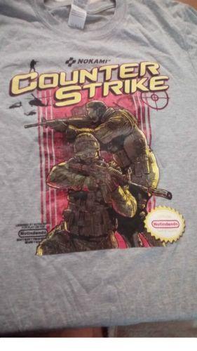 New-Counter-strike-T-Shirt-Medium