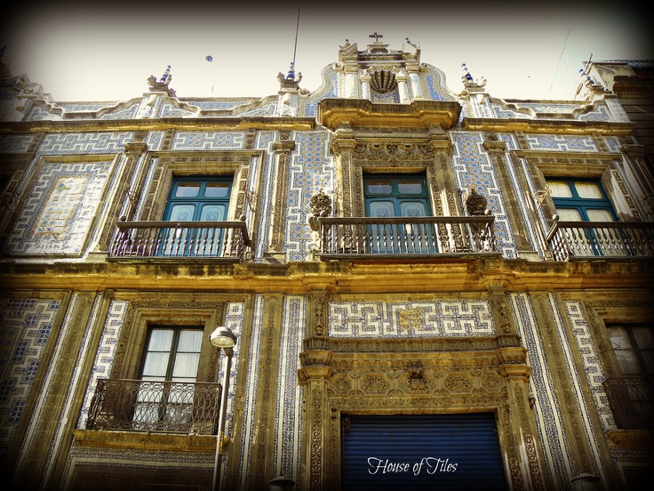 House of Tiles ~ Mexico City  by Krystal Williams~Landeros