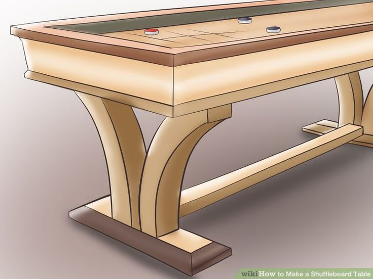How To Make A Shuffleboard Table: 9 Steps (with Pictures)